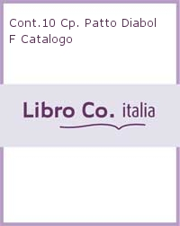 Cont.10 Cp. Patto Diabol F Catalogo