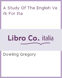 A Study Of The English Verb For Ita.