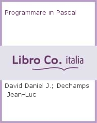 Programmare in Pascal.