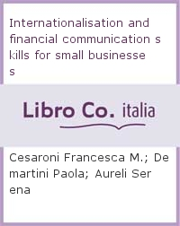 Internationalisation and financial communication skills for small businesses