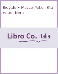 Bicycle - Mazzo Poker Standard Nero