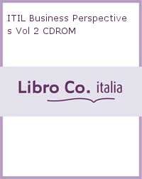 ITIL Business Perspectives Vol 2 CDROM.