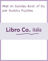 Mail on Sunday Book of Super Sudoku Puzzles.