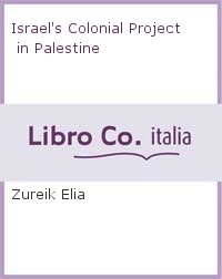 Israel's Colonial Project in Palestine.