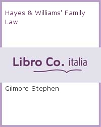 Hayes & Williams' Family Law.