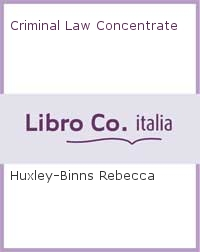Criminal Law Concentrate.