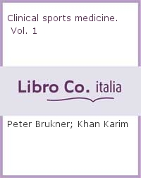 Revised clinical sports medicine. Vol. 1: Injuries