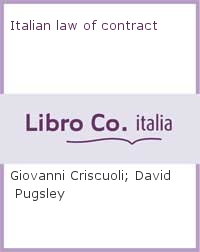 Italian law of contract