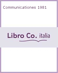 Communicationes 1981.