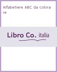 Alfabetiere ABC da colorare.
