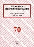 Saggi e studi di letteratura francese