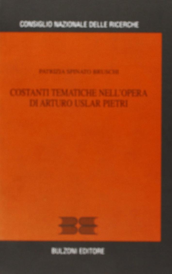 Costanti tematiche nell'opera di Arturo Uslar Pietri.