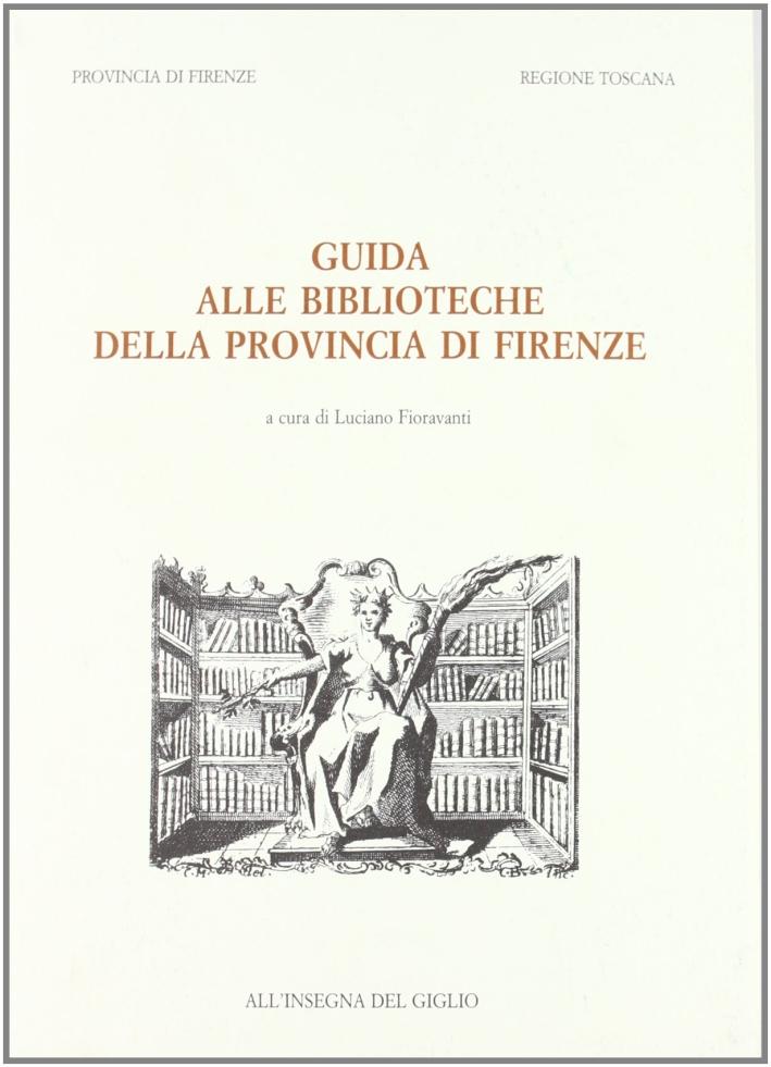 Guida alle biblioteche della provincia di Firenze.