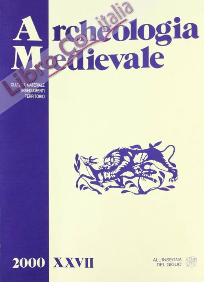 Archeologia medievale. Vol. 27.
