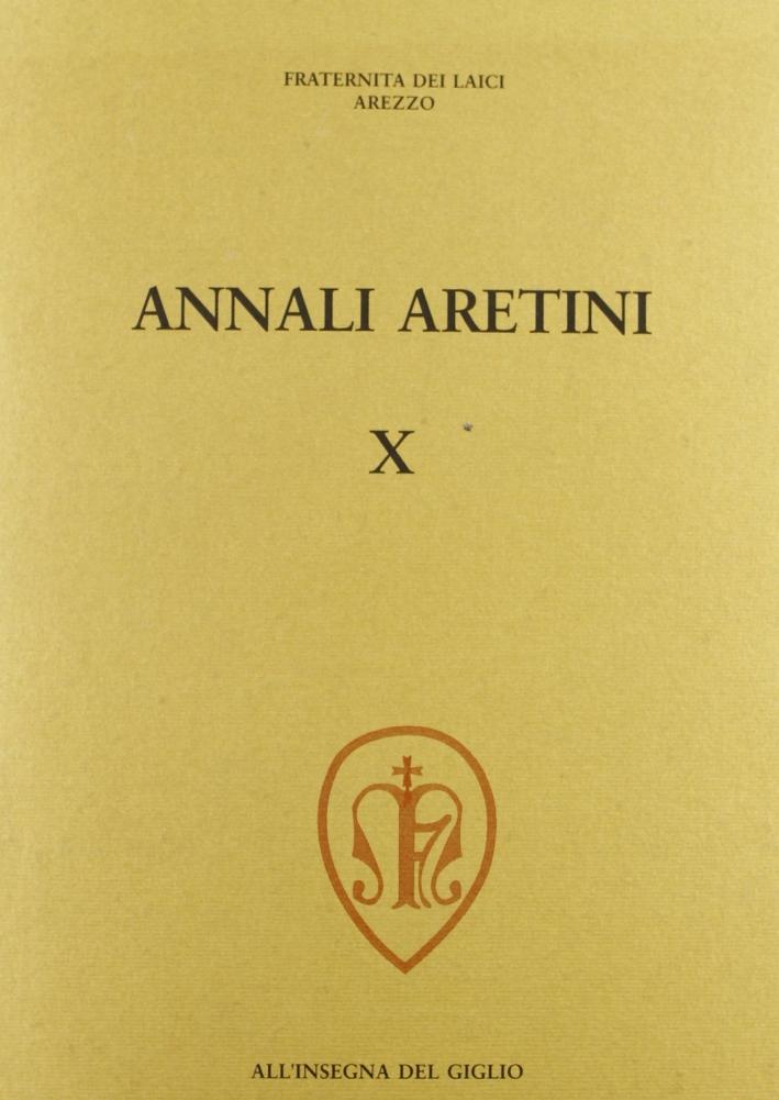 Annali aretini. Vol. 10