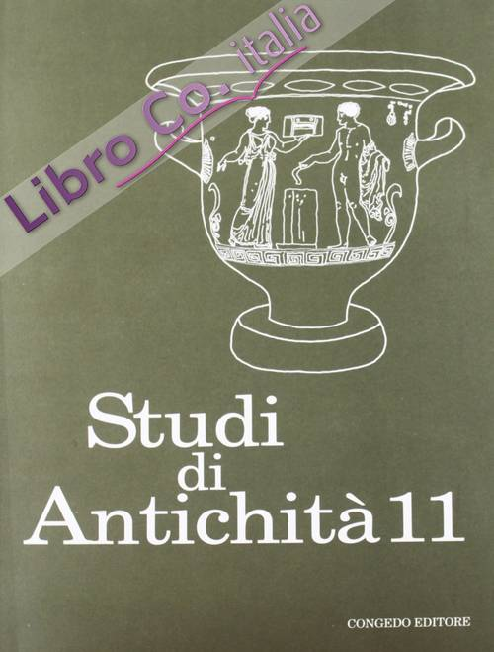 Studi di antichità. Vol. 11