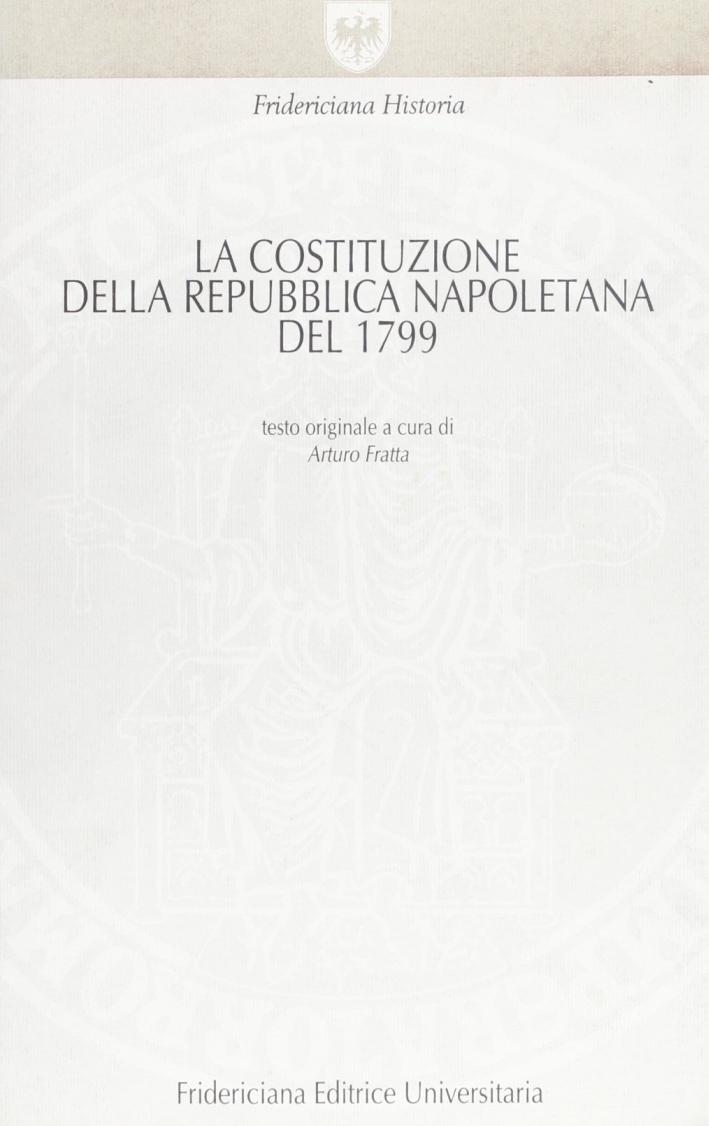 La costituzione della Repubblica napoletana del 1799