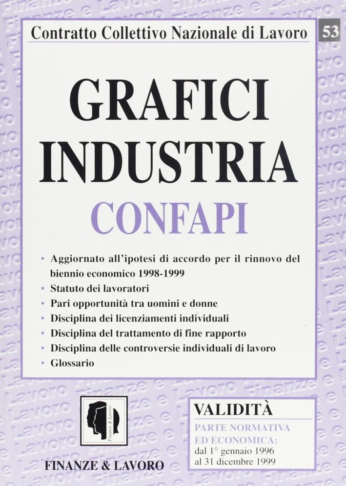 Grafici industria Confapi.