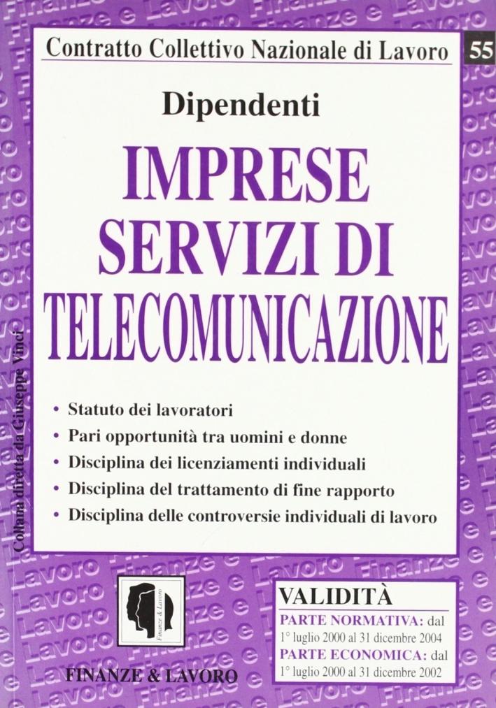 Imprese servizi di telecomunicazione.