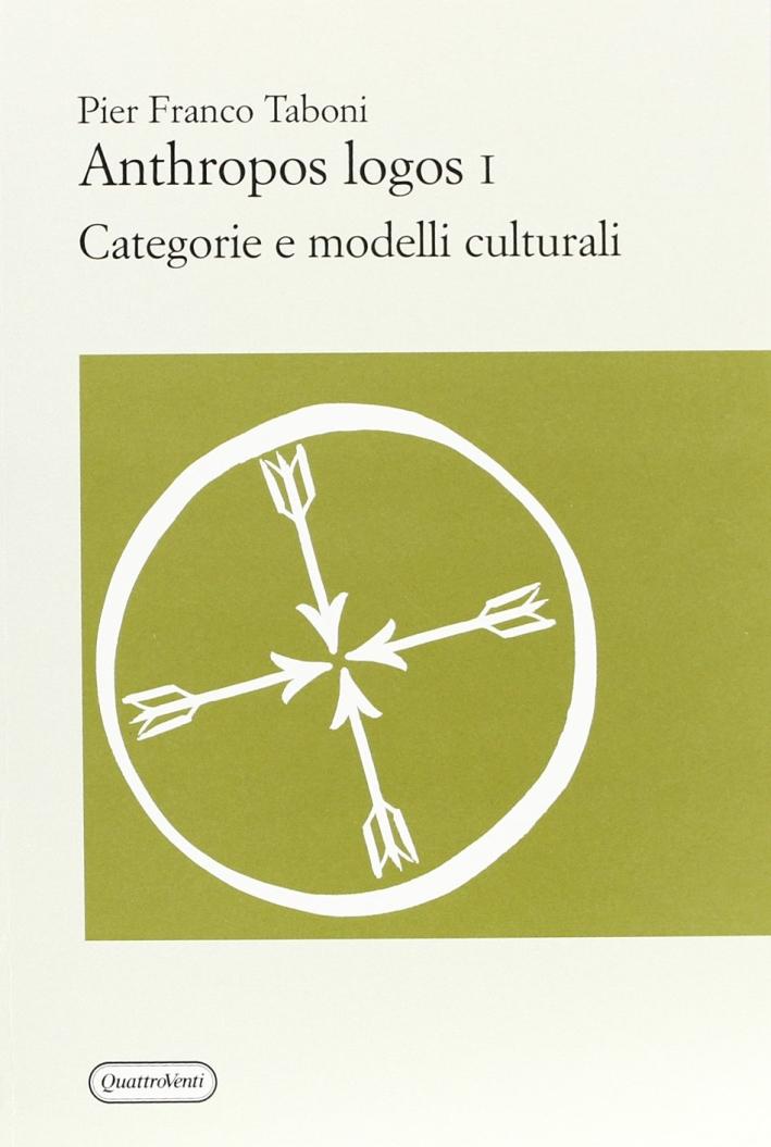 Anthropos logos. Vol. 1.