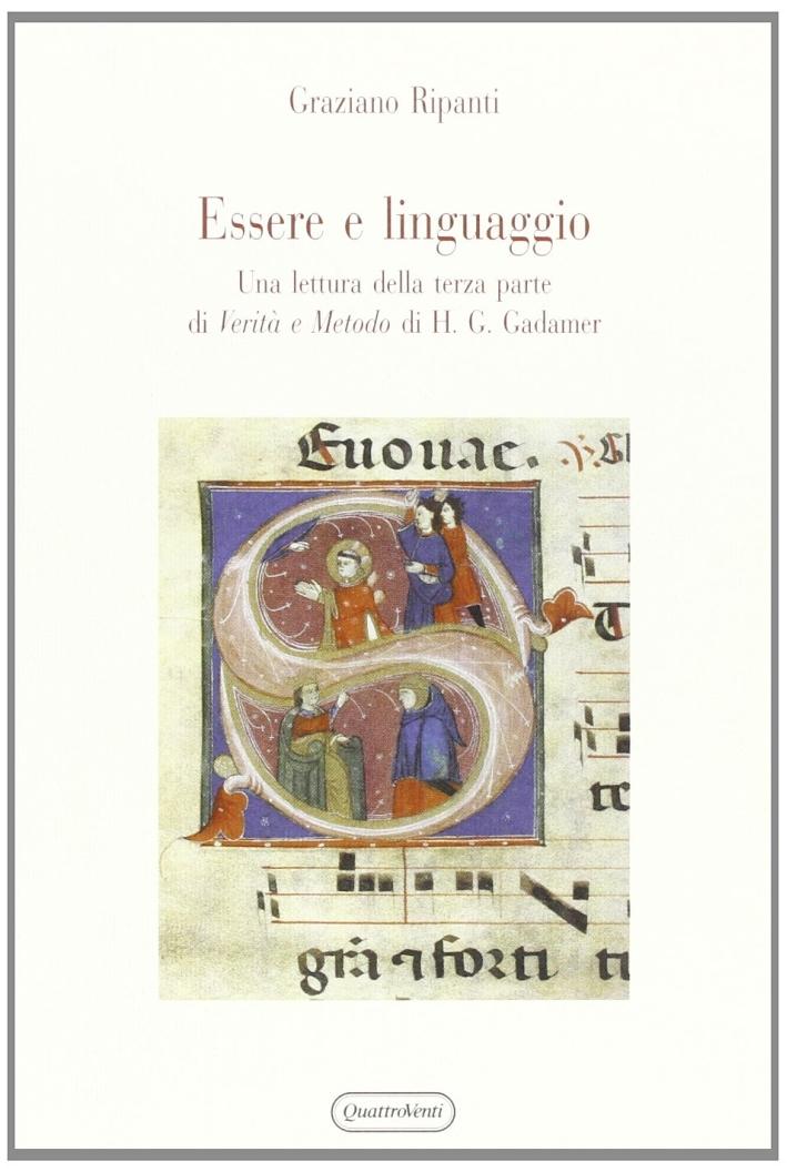 Essere e linguaggio. Una lettura della terza parte di