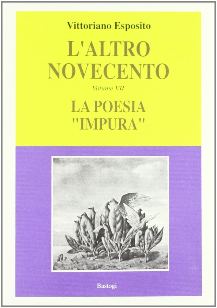 L'Altro Novecento. Vol. 7: la Poesia