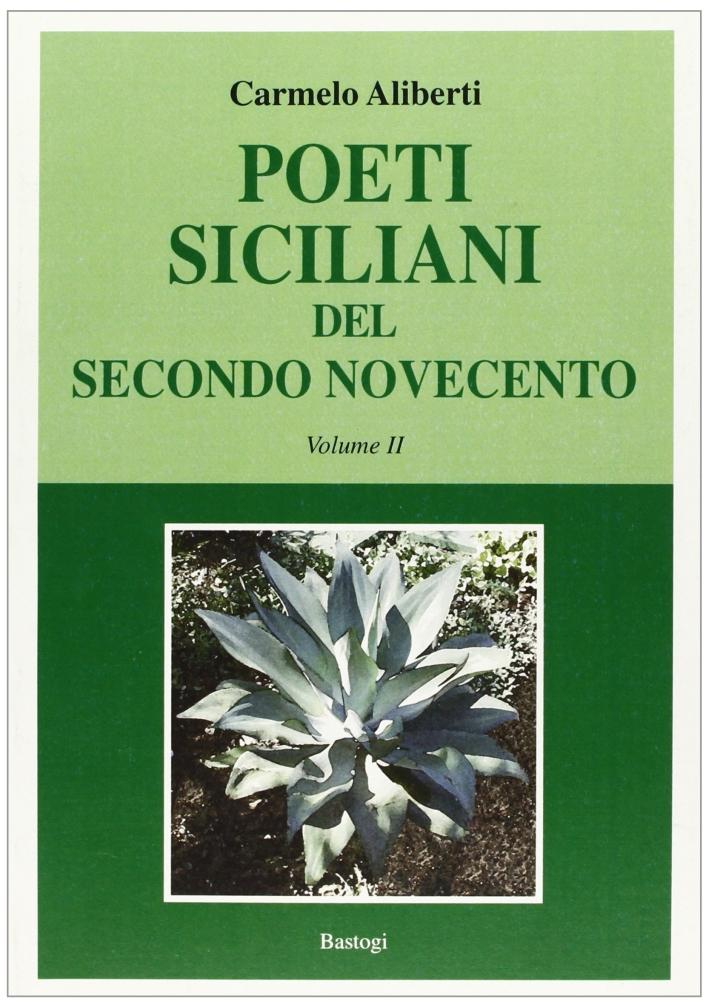 Poeti siciliani del secondo Novecento. Vol. 2.