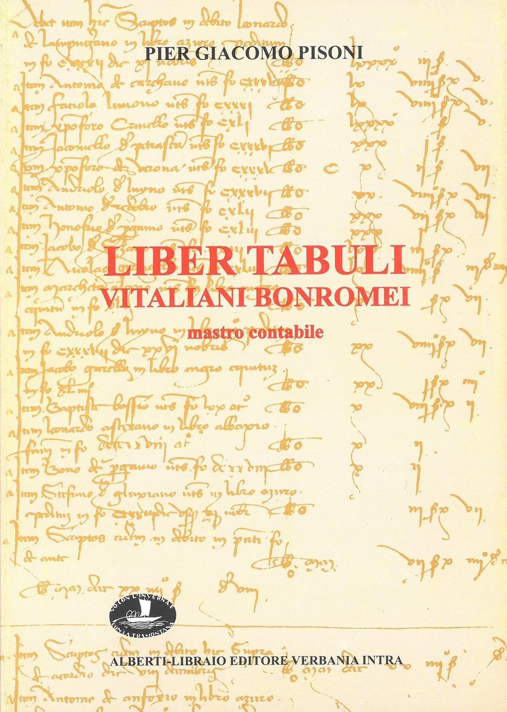 Liber tabuli Vitaliani Bonromei (1426-1430)