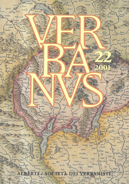 Verbanus. Rassegna per la cultura, l'arte, la storia del lago. Vol. 22