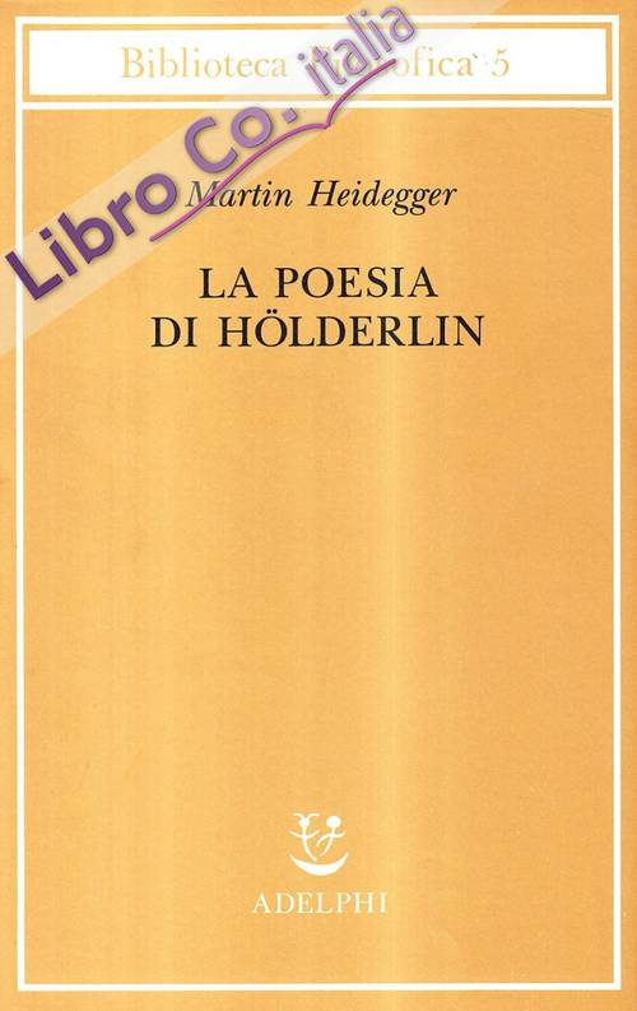 La poesia di Hölderlin.