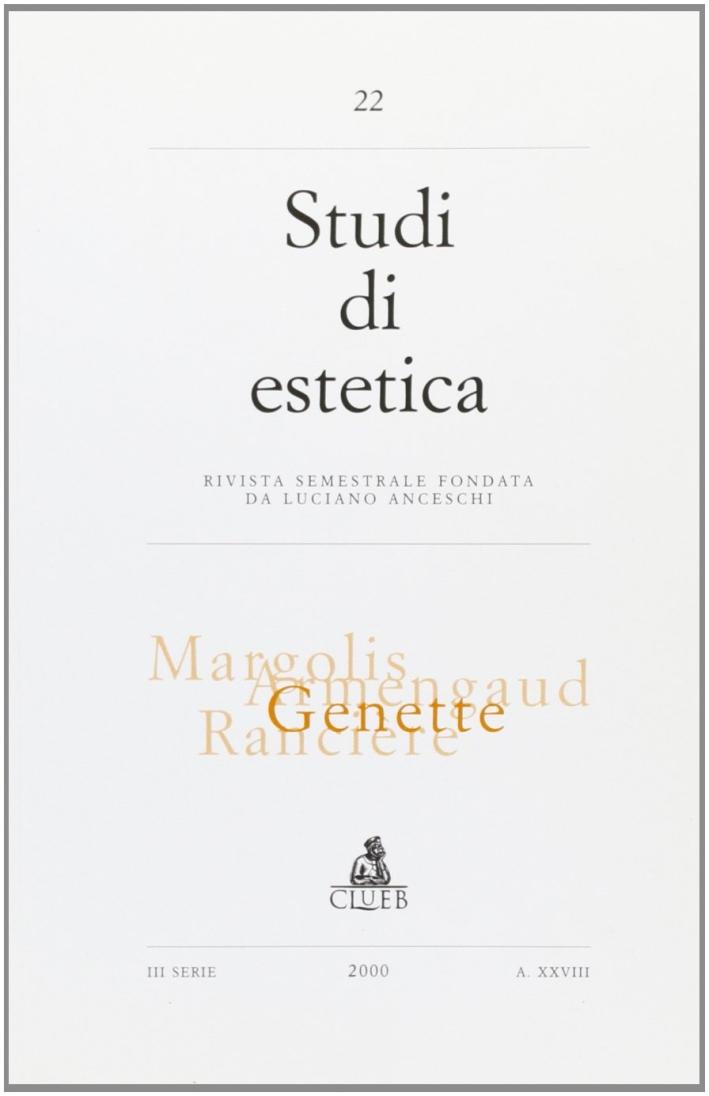 Studi di estetica (2000). Vol. 2