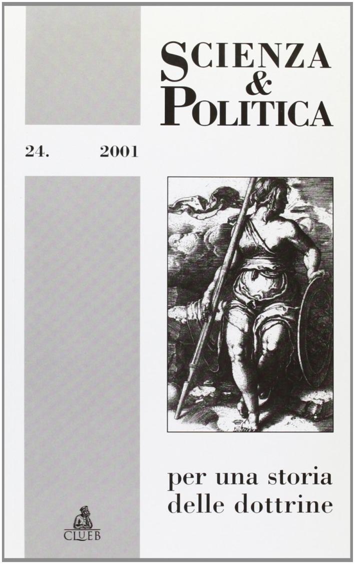 Scienza & politica per una storia delle dottrine. Vol. 24