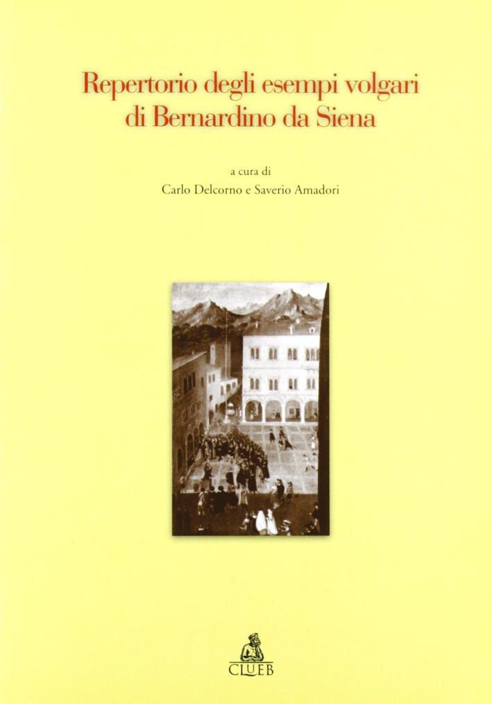 Repertorio degli esempi volgari di Bernardino da Siena.