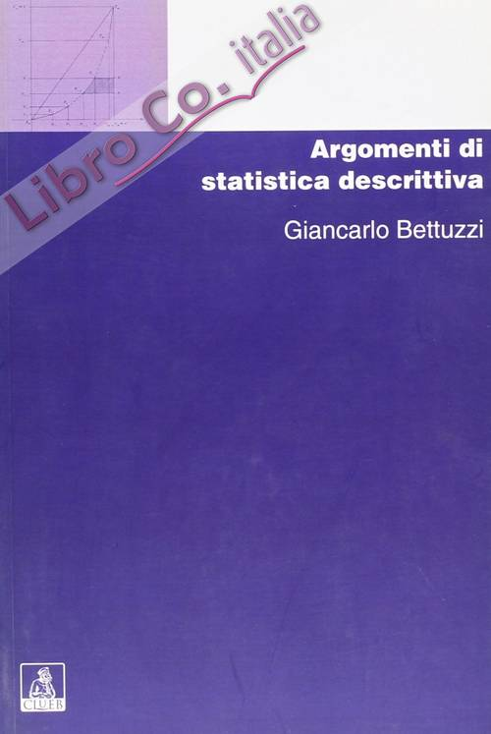 Argomenti di statistica descrittiva.