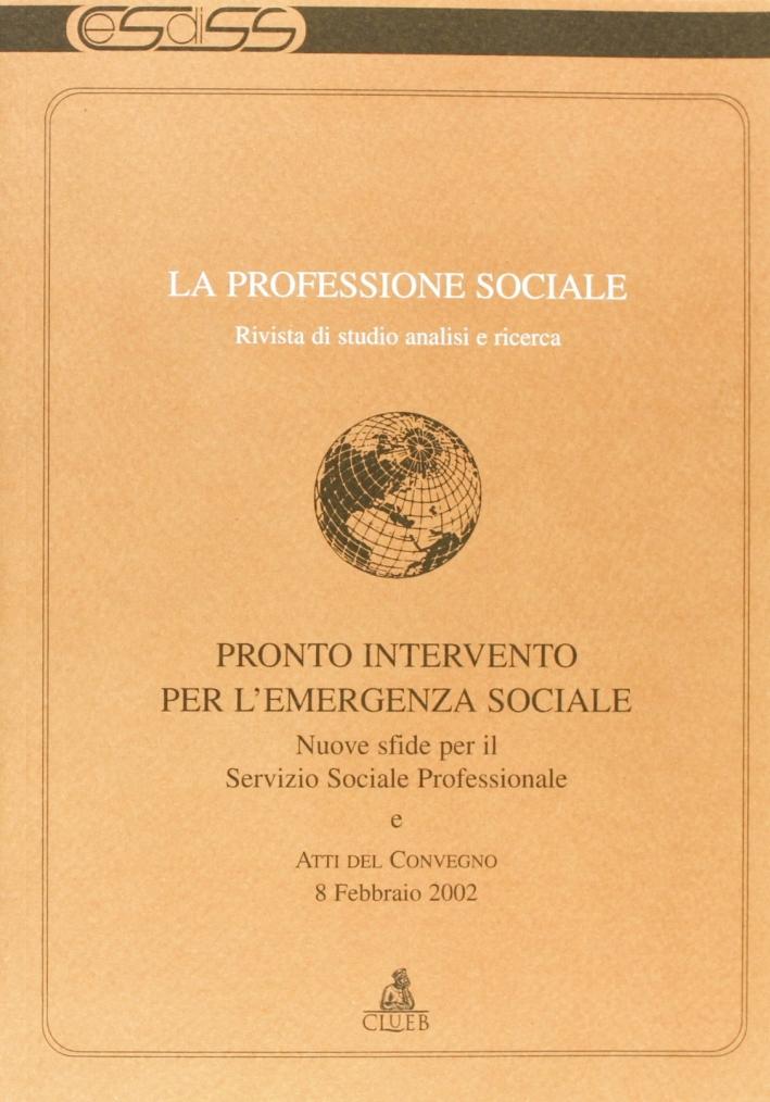 La professione sociale. Vol. 22.