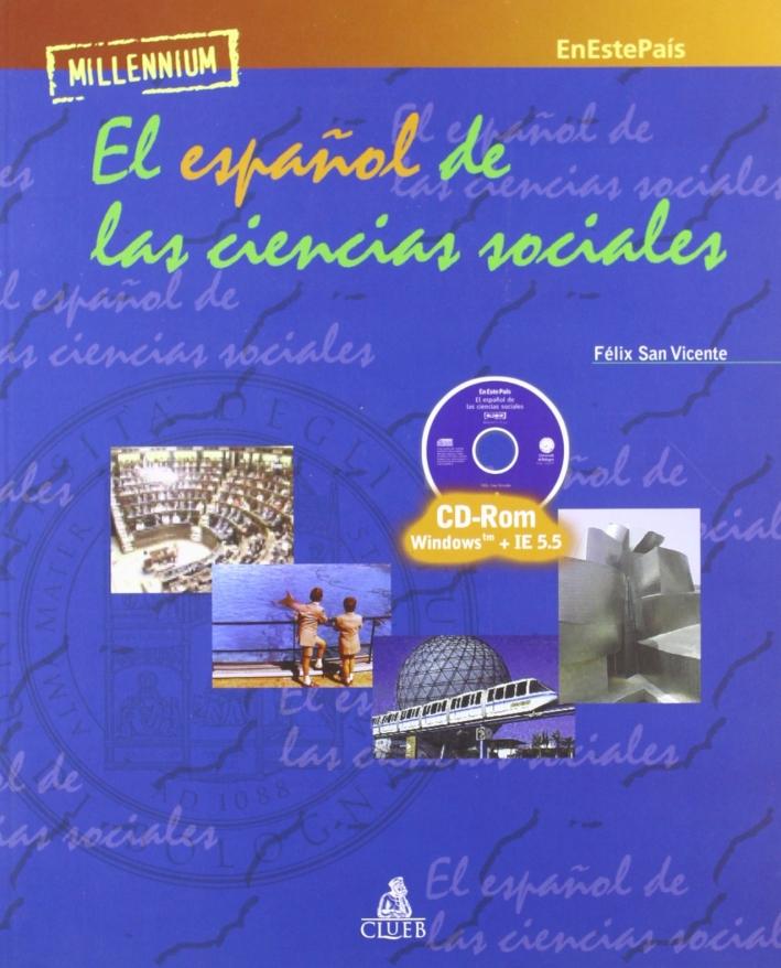 Millenium. En este pais. El español de las ciencias sociales. CD-ROM