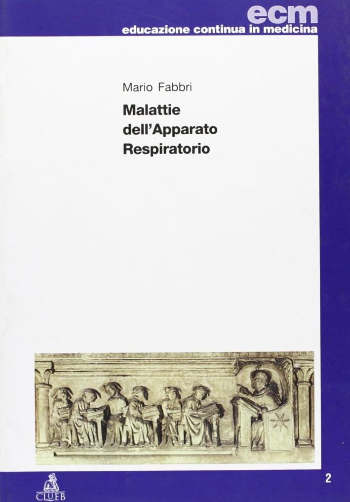 Malattie dell'apparato respiratorio.