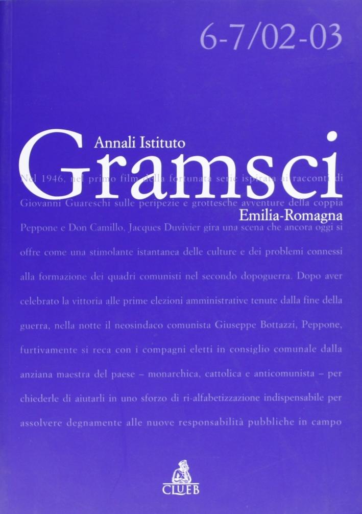 Annali dell'Istituto Gramsci Emilia Romagna (2002-2003)