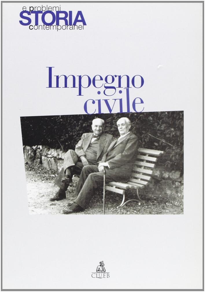 Storia e problemi contemporanei. Vol. 31.