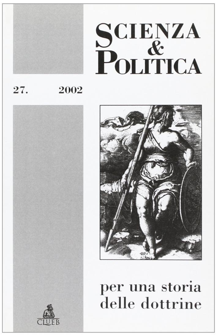 Scienza & politica per una storia delle dottrine. Vol. 27