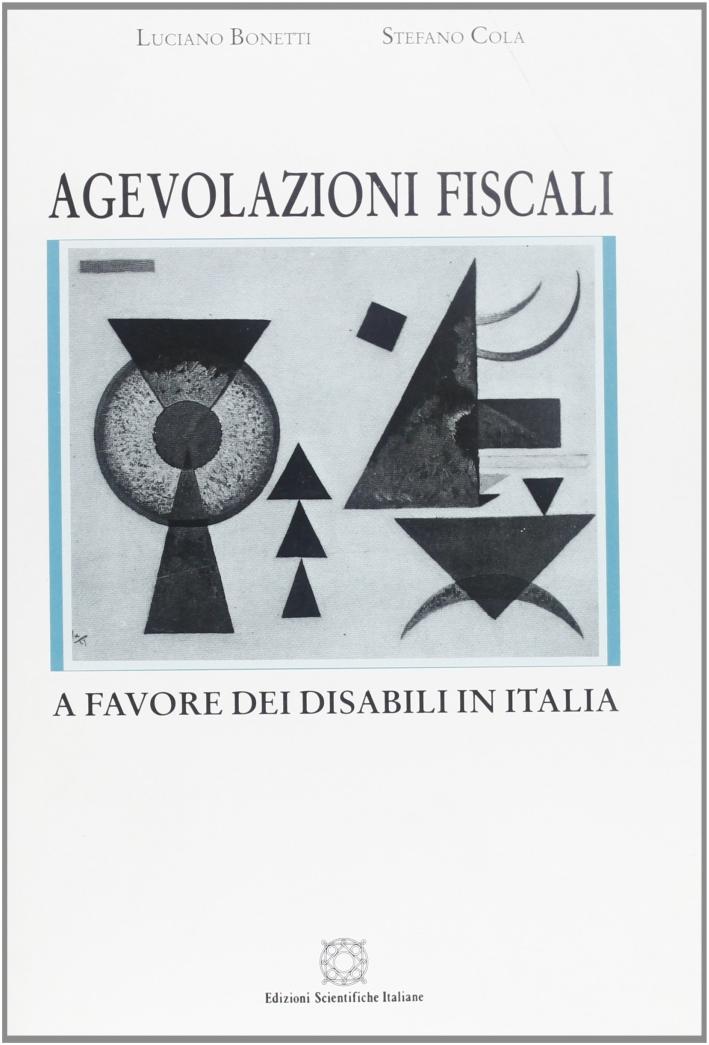 Agevolazioni fiscali a favore dei disabili in Italia