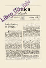 Critica liberale vol: 92-93