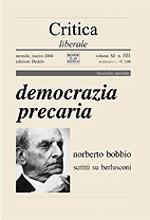 Critica liberale. Vol. 101