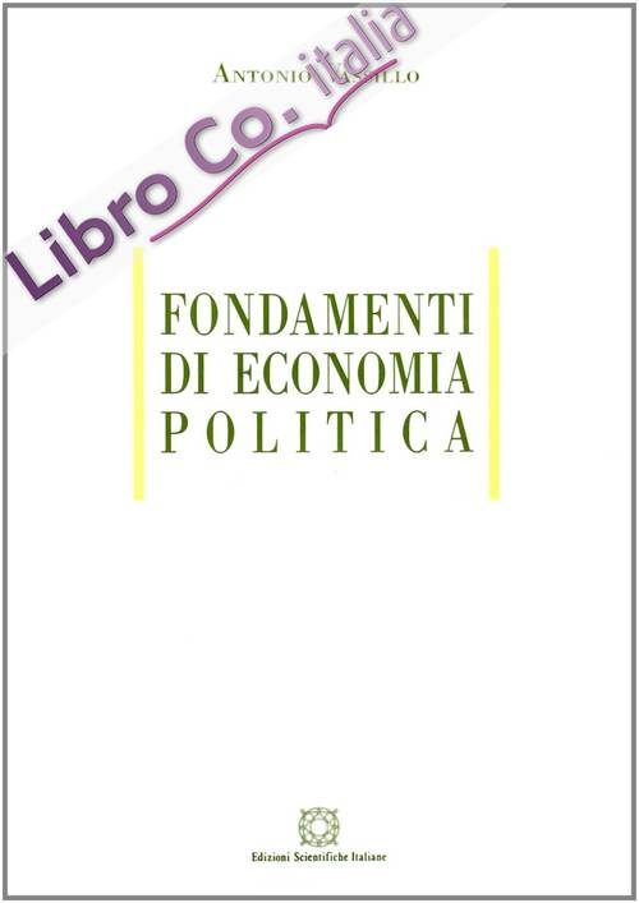 Fondamenti di economia politica