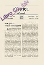 Critica liberale. Vol. 102