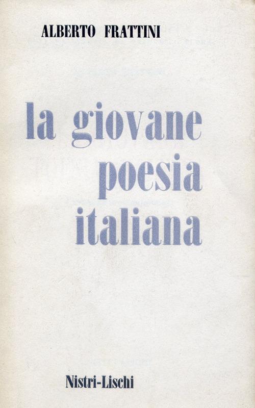 La giovane poesia italiana.