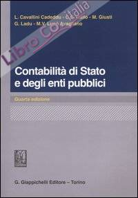 Contabilità di Stato e degli enti pubblici.