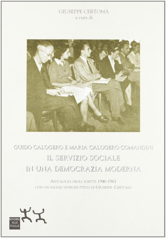 Guido Calogero e Maria Calogero Comandini. Il servizio sociale in una nuova democrazia moderna