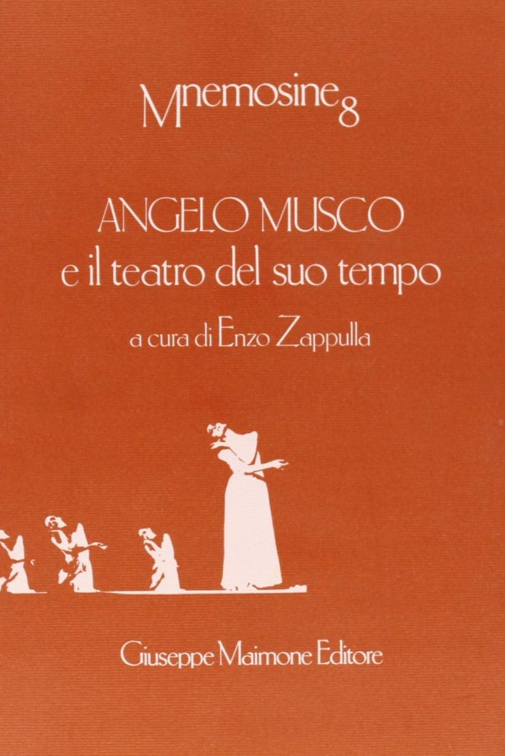 Angelo Musco e il teatro del suo tempo