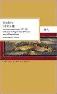Storie. [Edizione Bilingue]. Vol. 4: Libri 8-9..